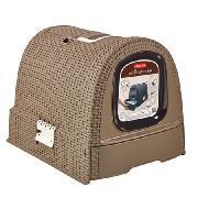 Maison De Toilette - Filtre A Charbon - Tapis Exterieur Maison de toilettes pour chat moka