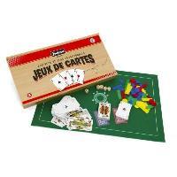 Mallette - Coffret Multi-jeux JEUJURA Coffret De Jeux De Cartes - Coffret En Bois