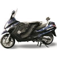 Manchon - Tablier Et Jupe Pour 2 Roues Surtablier Scooter ou Moto Adaptable R045 Noir