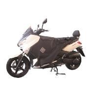 Manchon - Tablier Et Jupe Pour 2 Roues Surtablier Scooter ou Moto Adaptable R080X Noir