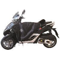 Manchon - Tablier Et Jupe Pour 2 Roues Surtablier Scooter ou Moto Adaptable R085 Noir