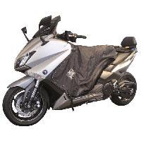 Manchon - Tablier Et Jupe Pour 2 Roues Surtablier Scooter ou Moto Adaptable R089 Noir