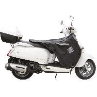 Manchon - Tablier Et Jupe Pour 2 Roues Surtablier Scooter ou Moto Adaptable R151X Noir