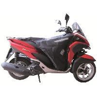 Manchon - Tablier Et Jupe Pour 2 Roues Surtablier Scooter ou Moto Adaptable R172X Noir