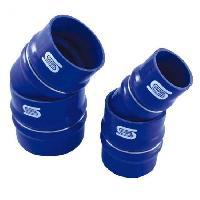 Manchons Raccord Flex Silicone - D80mm - Long 100mm - Bleu