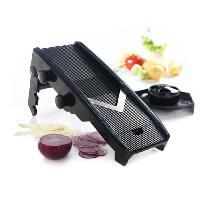 Mandoline - Eminceur - Coupe-aliment MASTRAD F20900 - Mandoline multi-lames en V - Noir
