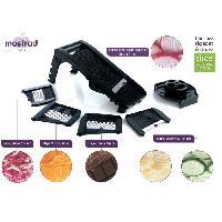 Mandoline - Eminceur - Coupe-aliment Mandoline multi-lames F21000 - 5 lames - Noir