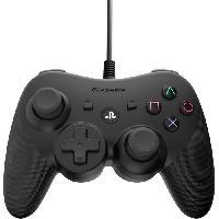 Manette Console Manette - Filaire - Noir - PS3
