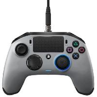 Manette Console Manette Nacon Revolution Pro Argent pour PS4