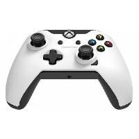 Manette Console Manette PDP Afterglow V2 blanche pour Xbox One