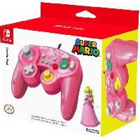 Manette Console Manette Smash Bros Peach pour Switch