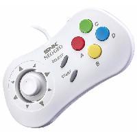 Manette Console Manette blanche Neo Geo Mini