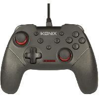 Manette Console Manette filaire Konix pour Switch