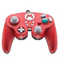 Manette Console Manette filaire Super Smash Bros- Mario pour Switch