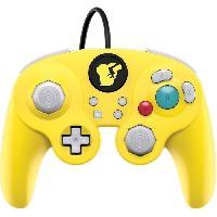 Manette Console Manette filaire Super Smash Bros- Pikachu pour Nintendo Switch