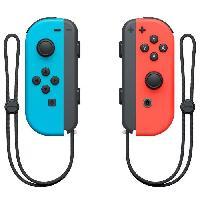 Manette Console Manettes Joy-Con Bleu Neon Rouge Neon pour Console Switch