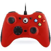 Manette Jeux Video Manette Filaire Big Ben Nacon PCGC-100XF Rouge pour PC
