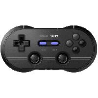 Manette Jeux Video Manette Gamepad bluetooth noire 8Bitdo N30 Pro2 pour Switch - Just For Games