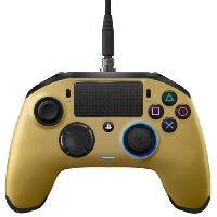 Manette Jeux Video Manette Nacon Revolution Pro Or pour PS4
