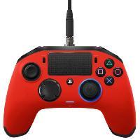 Manette Jeux Video Manette Nacon Revolution Pro Rouge pour PS4