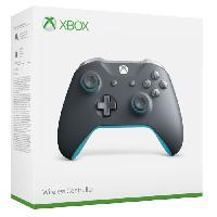 Manette Jeux Video Manette Xbox One sans fil Grise / Bleue - Microsoft