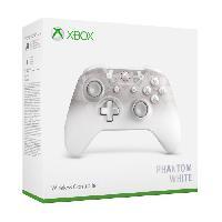 Manette Jeux Video Manette Xbox Sans Fil Edition Spéciale Phantom White - Microsoft
