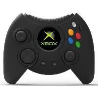 Manette Jeux Video Manette filaire Duke Noire Hyperkin pour Xbox One et PC