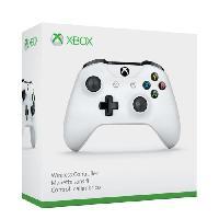 Manette Jeux Video Manette sans fil Xbox One blanche compatible PC - Microsoft