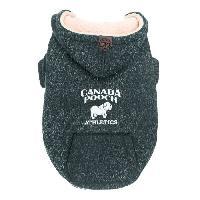 Manteau CANADA POOCH Manteau Cozy Caribou 18 - 11-15 kg - Gris - Pour chien