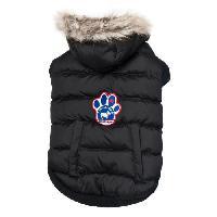 Manteau CANADA POOCH Manteau North Pole Parka 14+ - 8-11 kg - Noir - Pour chien