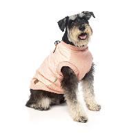 Manteau FUZZYARD Blouson Harnais MacGyver - 35-38.5 cm - Rose clair - Pour chien