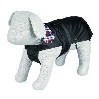 Manteau Manteau Paris S- 40 cm noir pour chien