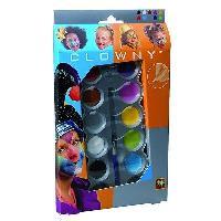 Maquillage - Coloration Deguisement AQUA Palette de maquillage 10 couleurs Tendance