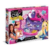 Maquillage - Coloration Deguisement CLEMENTONI Crazy Chic - Mon atelier Tatoo