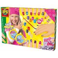 Maquillage - Coloration Deguisement SES CREATIVE Kit de decorations pour ongles