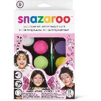 Maquillage - Coloration Deguisement SNAZAROO Palette maquillage fille