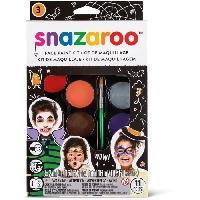 Maquillage - Coloration Deguisement SNAZAROO Palette maquillage halloween