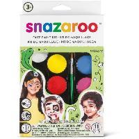 Maquillage - Coloration Deguisement SNAZAROO Palette maquillage mixte