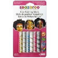 Maquillage - Coloration Deguisement SNAZAROO Sticks peinture pour visage filles