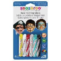 Maquillage - Coloration Deguisement SNAZAROO Sticks peinture pour visage garcons