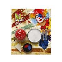 Maquillage - Coloration Deguisement Set Maquillage Clown 23x20 cm