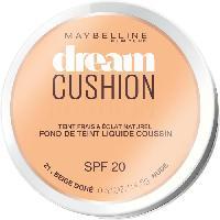 Maquillage Visage - Corps GEMEY MAYBELINE Fond de Teint Dream Cushion 21 - Beige Doré - Gemey Maybelline