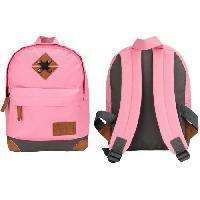 Maroquinerie ABBEY Petit Sac a dos - Rose