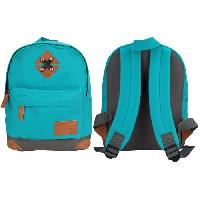 Maroquinerie ABBEY Petit Sac a dos - Turquoise