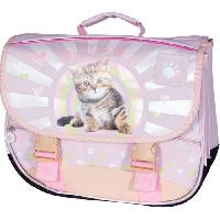 Maroquinerie Cartable Spa Sunshine Chat Rose Fille