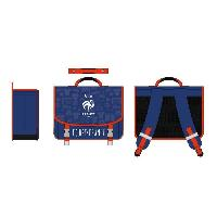 Maroquinerie FEDERATION FRANCAISE DE FOOTBALL Cartable - Deux compartiments - 41 cm - Bleu
