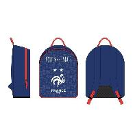 Maroquinerie FEDERATION FRANCAISE DE FOOTBALL Sac a dos junior - Un compartiment - 35 cm - Bleu
