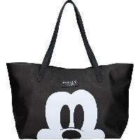 Maroquinerie MICKEY MOUSE Sac Shopping Forever Famous Noir