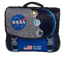 Maroquinerie NASA Cartable 41 cm Gris Enfant