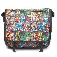 Maroquinerie Sac besace Marvel: Motif style comics - Difuzed